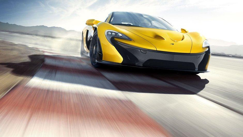 Salon de Genève 2013 : McLaren P1, 1 million d'euros l'unité !