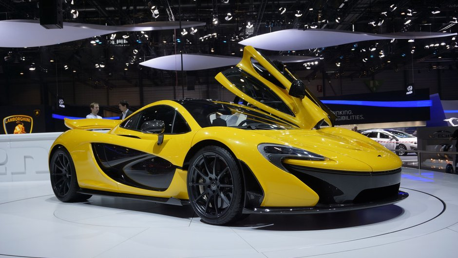 Salon de Genève 2013 - Live : McLaren P1, la supercar aux performances étourdissantes
