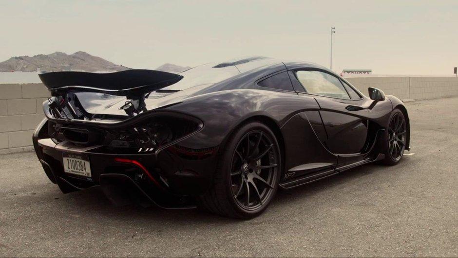 Vidéo : McLaren P1, à l'épreuve du désert !