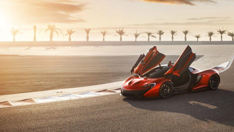 McLaren P1 : le plein de photos à Bahrein