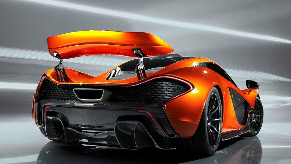 Mondial de l'Auto 2012 : la McLaren P1 en montre davantage