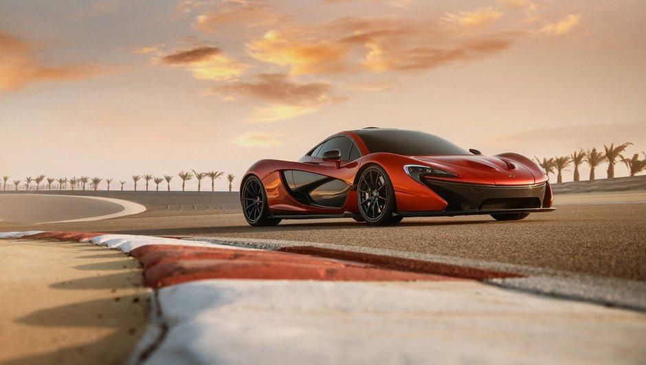 McLaren P1 : nouvelles photos venues de Bahrein
