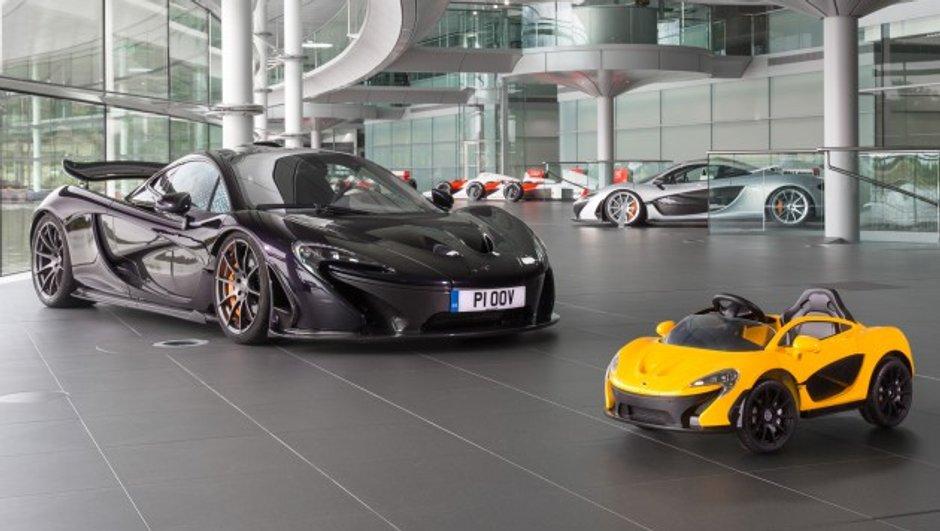 Insolite: McLaren lance une P1 électrique pour les enfants