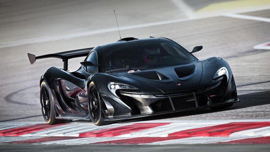 Nouvelles photos exclusives pour la McLaren P1 GTR !