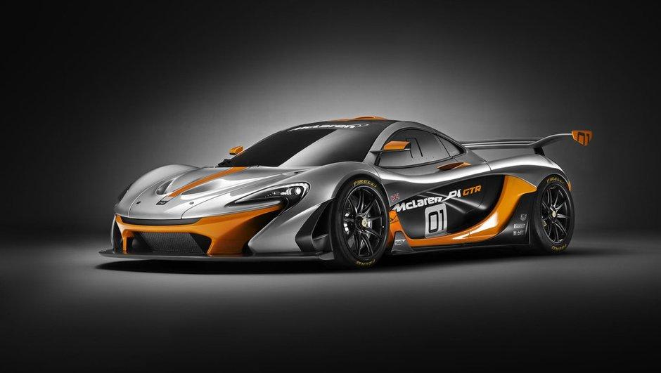McLaren P1 GTR Design Concept 2014 : 1.000 chevaux réservés à la piste