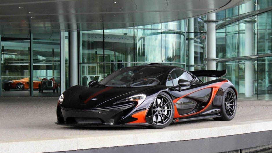 McLaren P1: Quand MSO vire au violet...