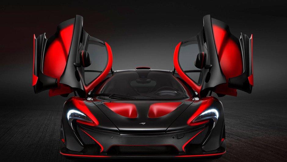 McLaren P1 MSO 2015 : diabolique en rouge et noir !