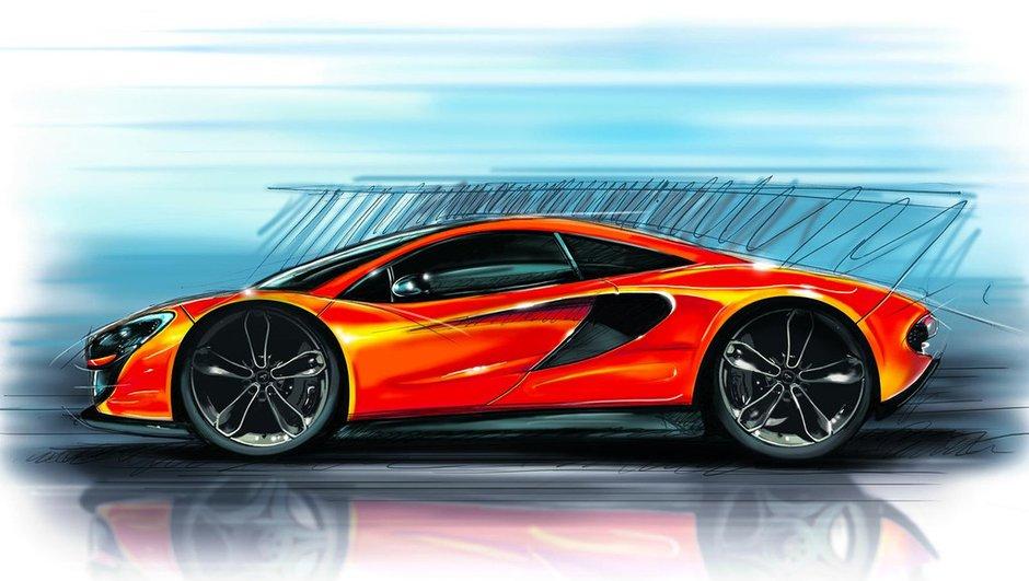 Future McLaren P13 : une image et un moteur V8