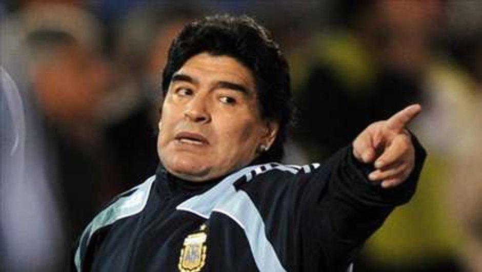Coupe du monde : Maradona à poil !