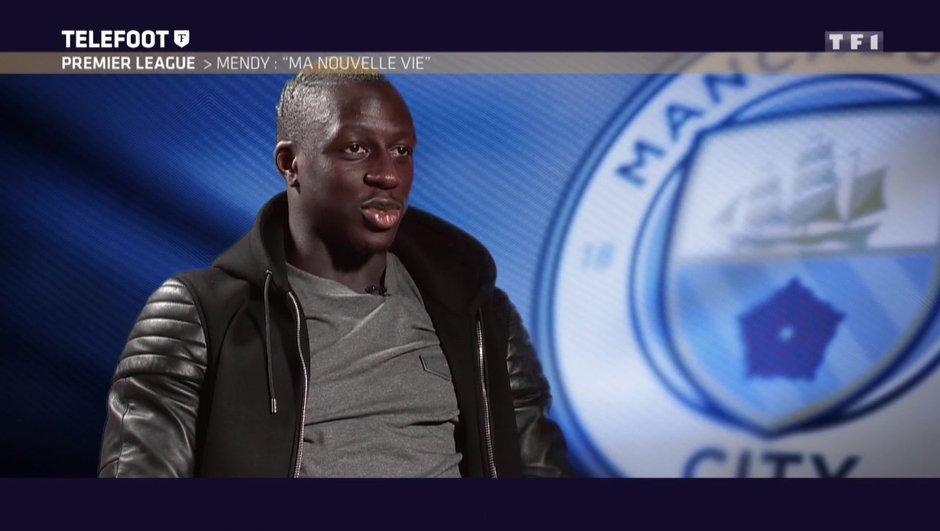 """[EXCLU Téléfoot 24/09] - Benjamin Mendy : """"Manchester City a l'un des meilleurs projets en Europe"""""""