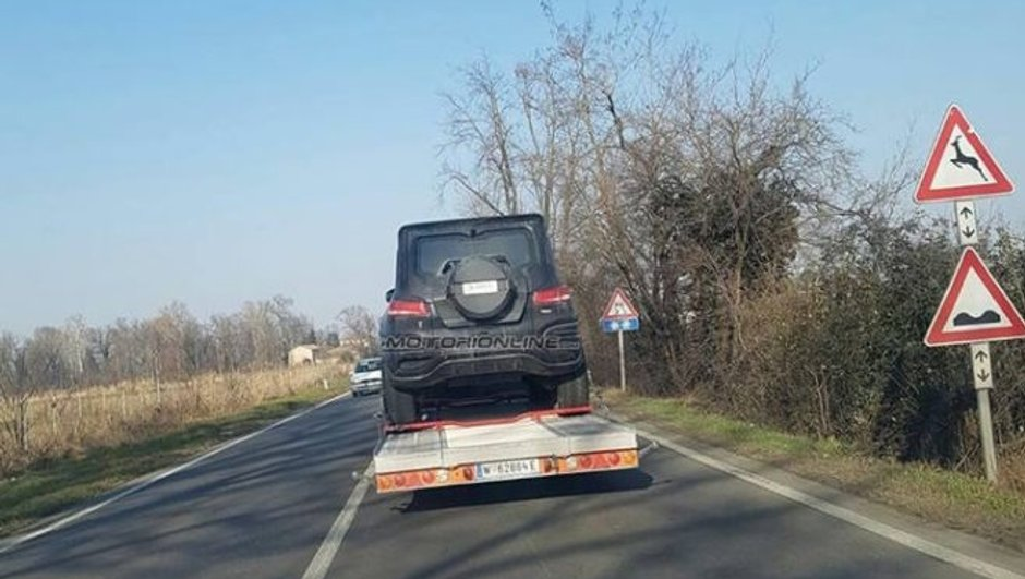 Scoop : Un futur Mercedes Classe G ou... GLB surpris sur les routes !
