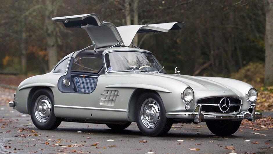 Une Mercedes 300 SL Gullwing vendue 3,6 millions d'euros !