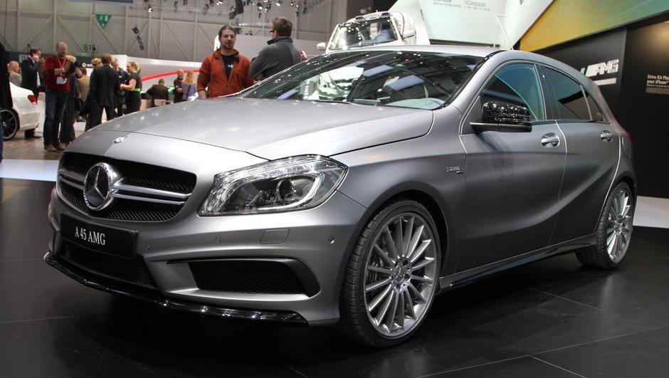 Salon de Genève 2013 - Live : Mercedes-Benz A45 AMG, la Classe A en tenue de sport