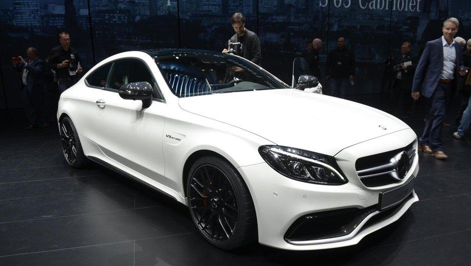 Salon de Francfort 2015: Mercedes Classe C Coupé, nouveau monstre étoilé
