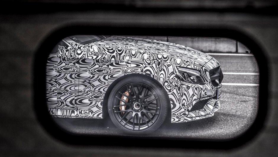 Futur Mercedes-AMG C63 Coupé 2016 : premières photos officielles