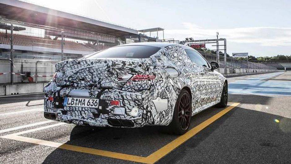 Salon de Francfort 2015: La future Mercedes-AMG C63 Coupé se montre encore!