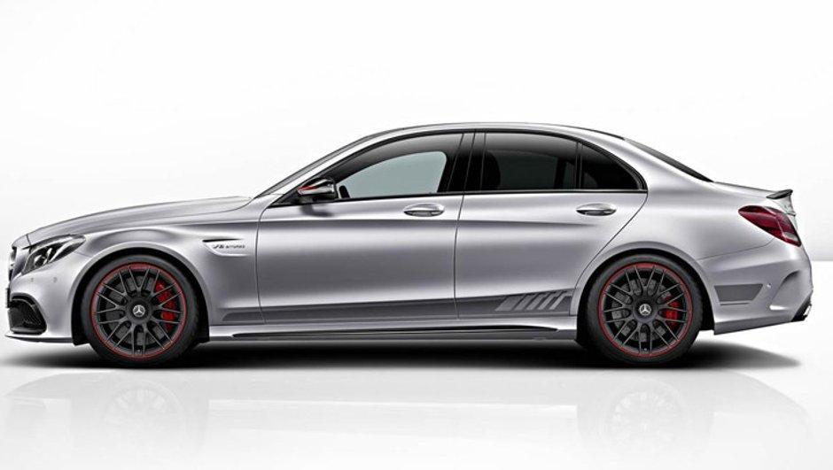 La Mercedes-AMG C63 2015 se pare d'une Edition 1 au lancement