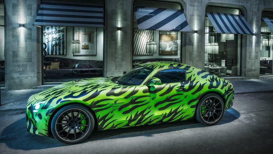 Future Mercedes-AMG GT 2015 : préfigurée dans le jeu vidéo DRIVECLUB