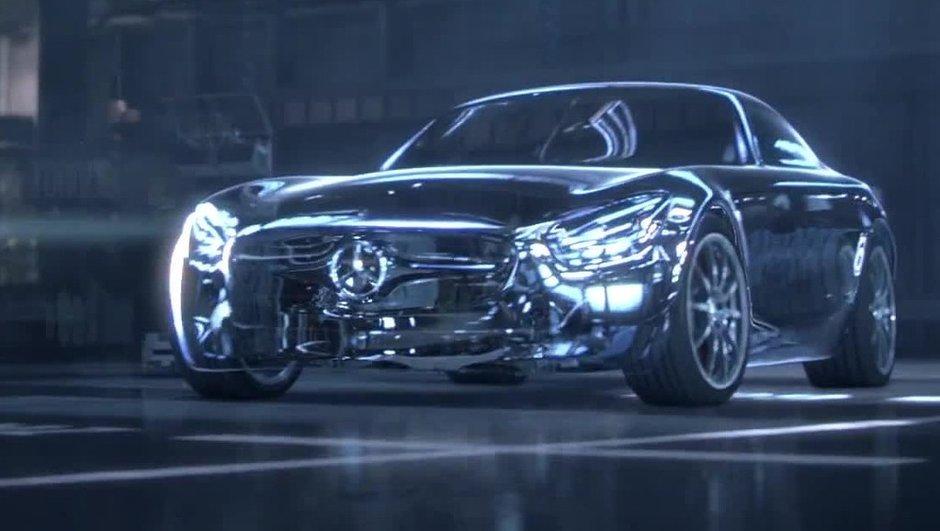 Future Mercedes-AMG GT 2015 : 503 chevaux pour le moteur V8