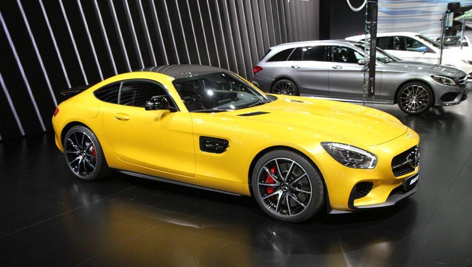 Mondial de l'Automobile 2014 : Mercedes-AMG GT, la 911 en ligne de mire