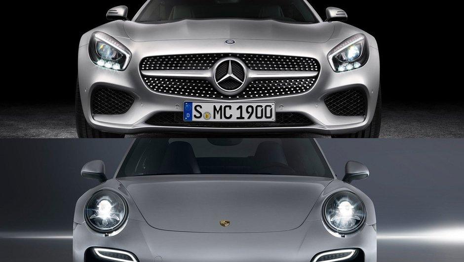 Mercedes-AMG GT contre Porsche 911 : le match des GT allemandes
