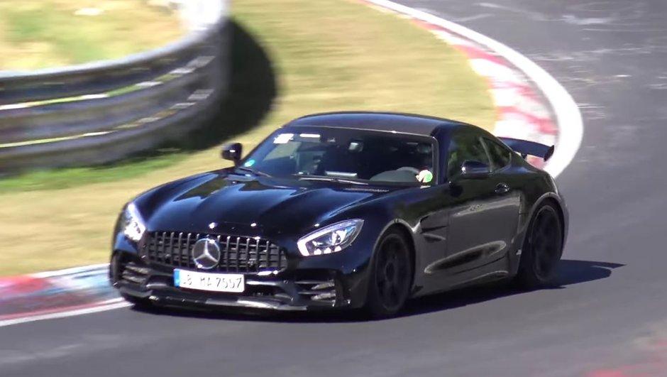 Vidéo: la redoutable Mercedes-AMG GT R en action sur le Nürburgring