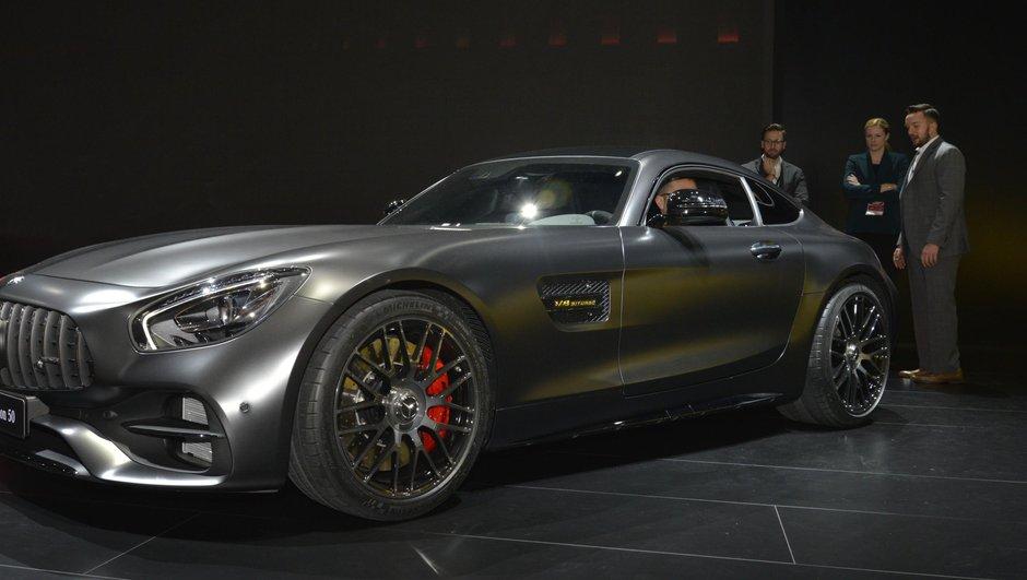 Salon de Detroit 2017 : Les nouvelles Mercedes-AMG GT et GT C Edition 50