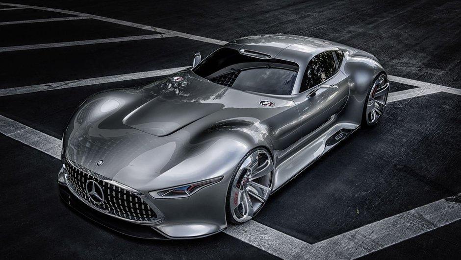 Mercedes-Benz AMG Vision Gran Turismo : un concept magnifiquement virtuel
