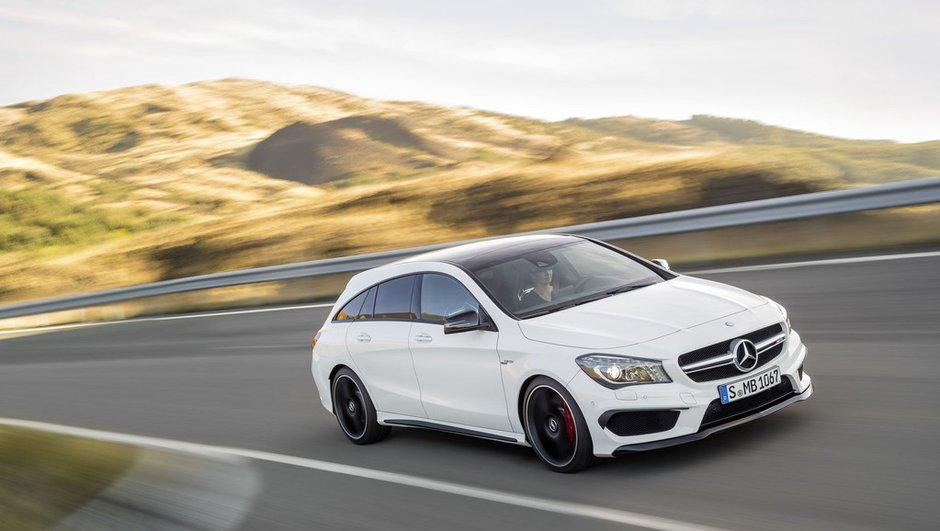 Mercedes-Benz CLA Shooting Brake 2015 : le break teuton part en chasse !