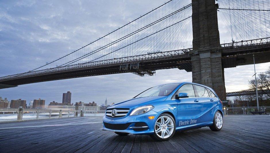 Salon de New York 2013 : La Mercedes Classe B... électrique !