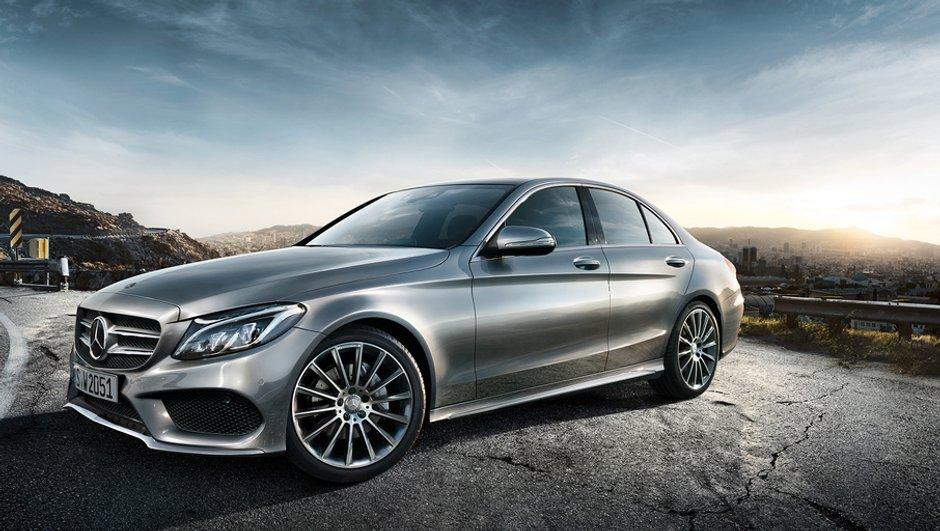 Nouvelle Mercedes-Benz Classe C 2014 : premières photos officielles