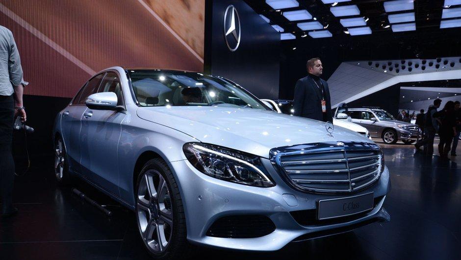 Salon de Detroit 2014 : nouvelles Mercedes Classe C, GLA 45 AMG et S 600