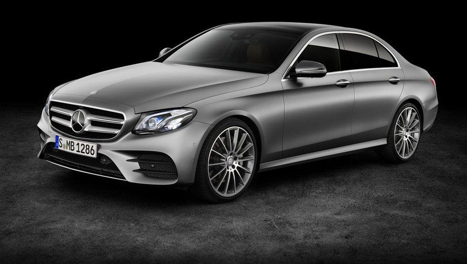 Mercedes-Benz Classe E 2016 : 1ères photos et infos officielles avant Detroit