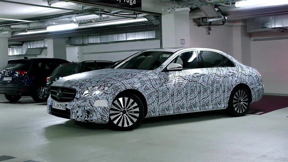 La future Mercedes-Benz Classe E 2016 présente ses technologies
