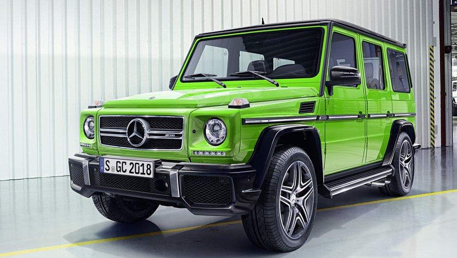 Mercedes-Benz Classe G 2015 : jusqu'à 630 ch