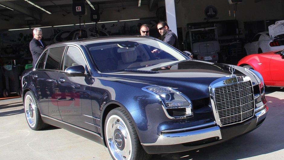 """Insolite : Une mystérieuse Mercedes-Benz Classe S """"600 Royale"""""""