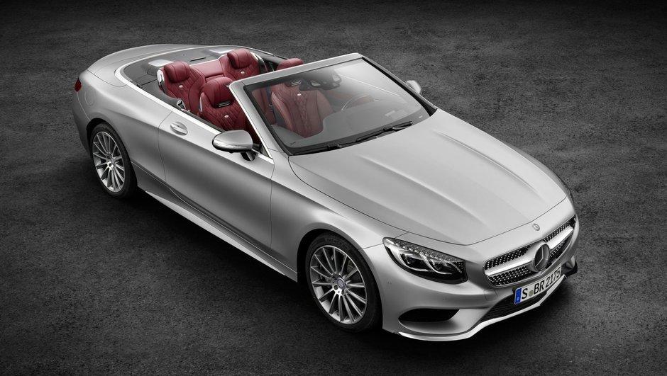 Mercedes Classe S Cabriolet 2015 : luxe grand ouvert pour le Salon de Francfort
