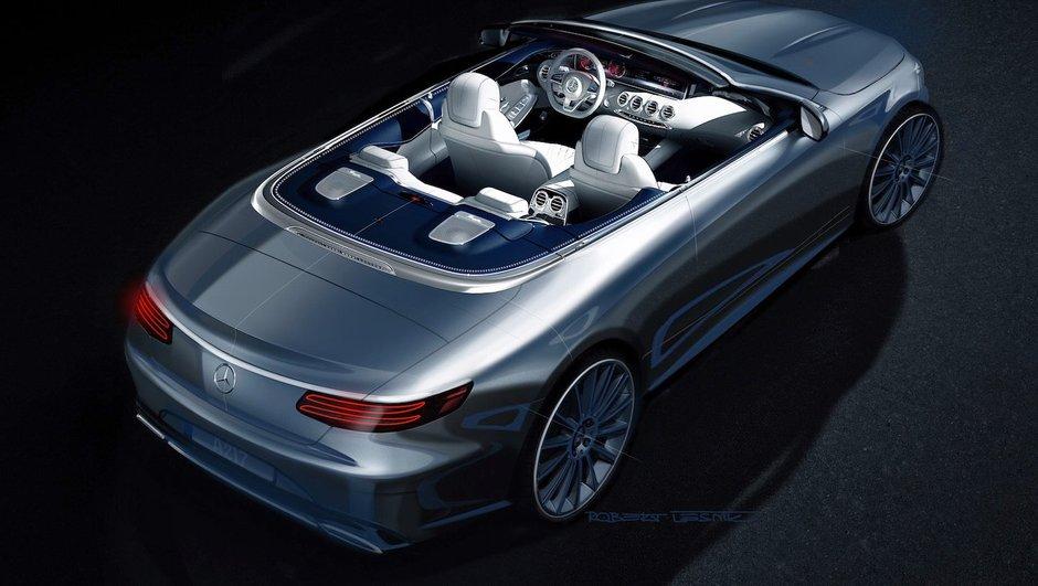 Salon de Francfort 2015 : la Mercedes-Benz Classe S Cabriolet s'annonce