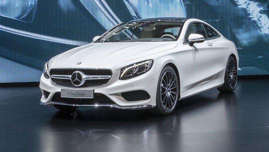 Salon de Genève 2014 : Mercedes Classe S Coupé, beauté luxueuse