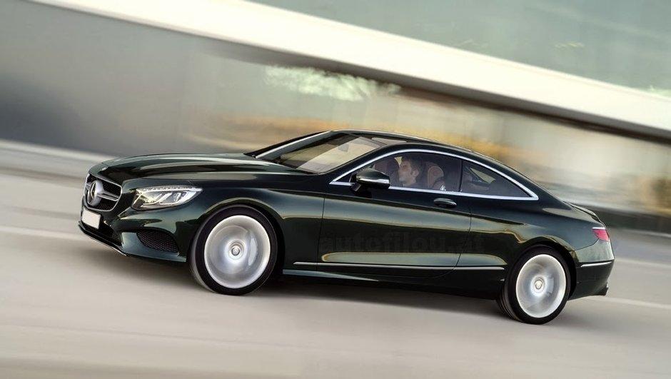 Nouvelle Mercedes-Benz Classe S Coupé 2014 : première photo en fuite