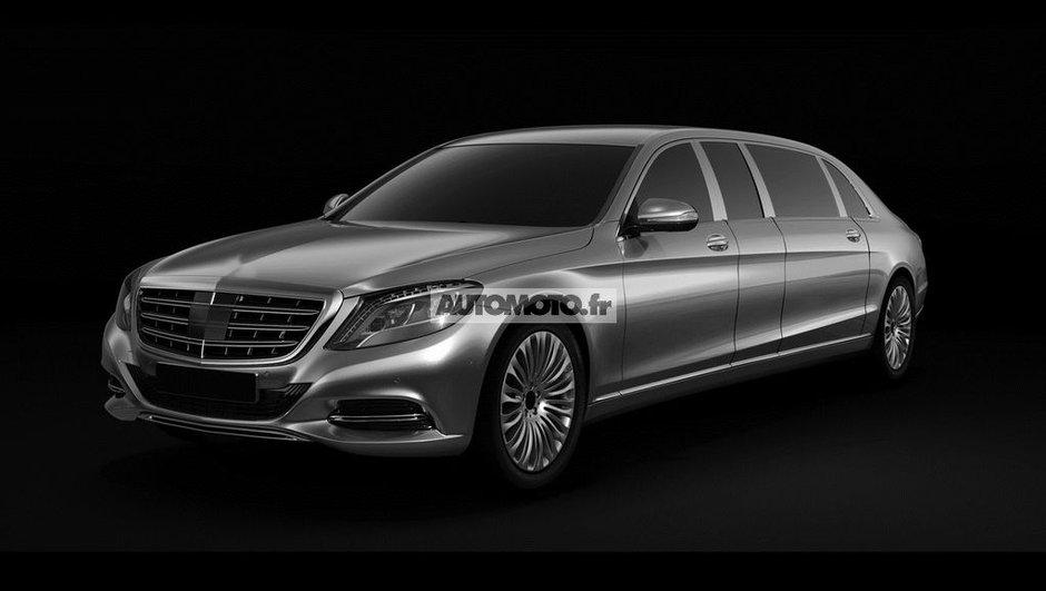 Mercedes-Benz Classe S Pullman 2015 : images scoop exclusives de la limousine