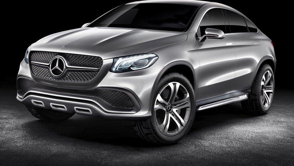 """Mercedes-Benz Concept Coupé SUV 2014 : le """"tueur de X6"""" préfiguré !"""