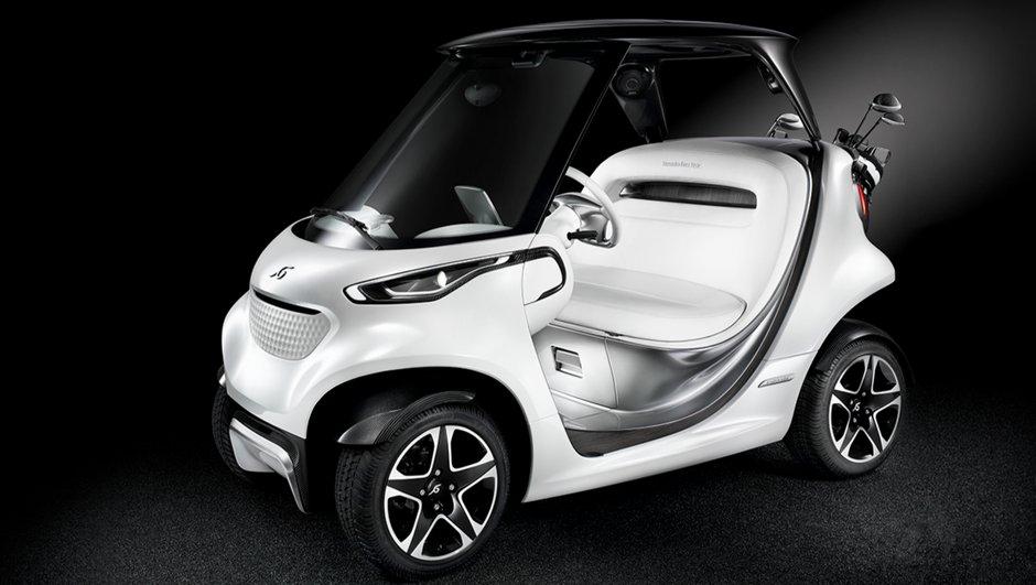Mercedes s'attaque à un nouveau terrain de jeu : le golf !