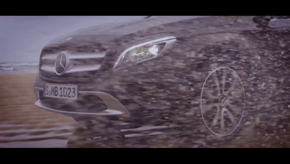 Mercedes-Benz GLA 2013 : le teaser vidéo
