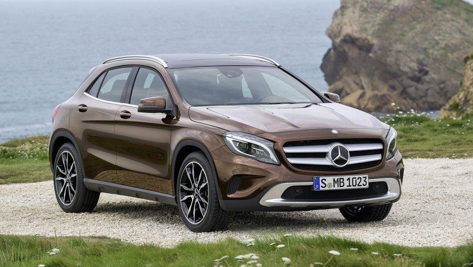 Mercedes-Benz GLA 2014 : tarifs à partir de 30.400 euros