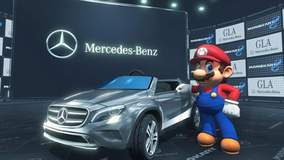 Vidéo Insolite : Mario roule désormais en Mercedes-Benz GLA !