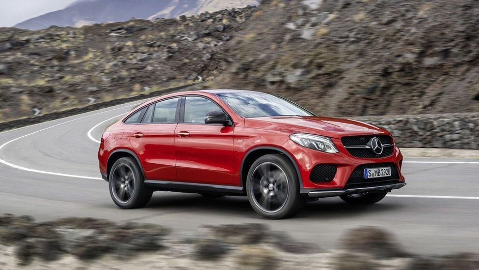 Mercedes-Benz GLE Coupé 2015 : L'étoile répond enfin au X6