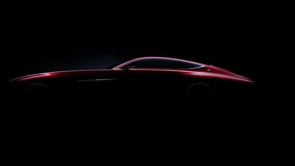 Mercedes tease son futur coupé Maybach