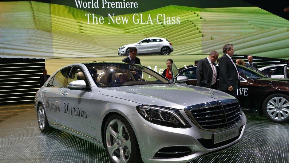Salon de Francfort 2013 : Mercedes S500 Plug-In Hybrid, la performance en plus