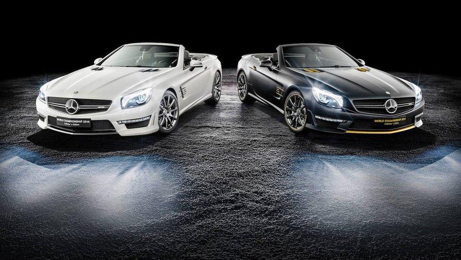 Mercedes SL 63 AMG World Championship Edition : série limitée pour fêter le doublé en F1